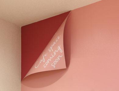 気になる壁のサインは未来への布石〜看板デザイン