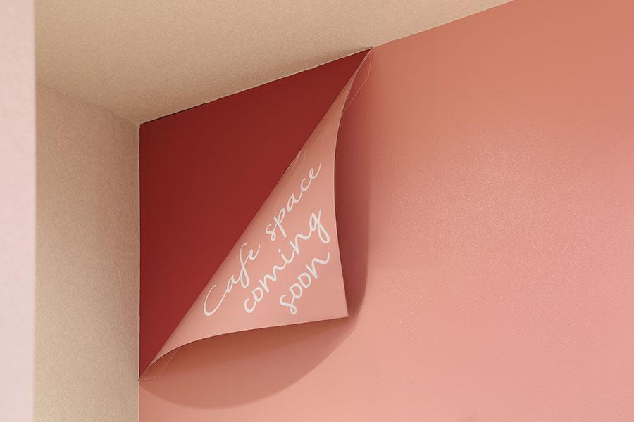 ケーキ屋の看板デザイン