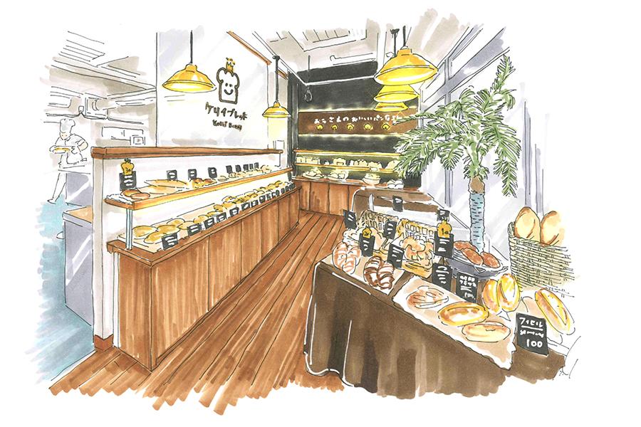パン屋のデザイン