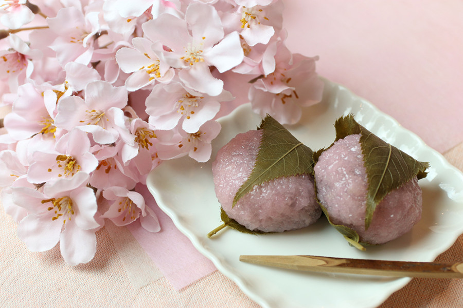 ローソンの桜餅