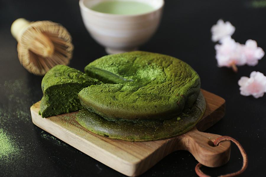 あべまき茶屋の宇治抹茶の氷結グリーンショコラ